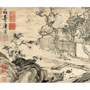 WuTzu Cultivating Innate Nature, 晤子养性图