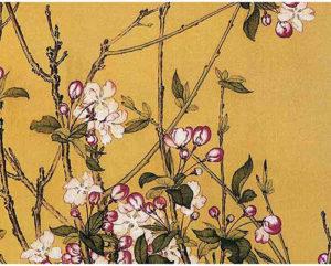 Flowers & Birds by Liang Shining 郎世宁花鸟画