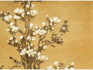 Flower & Birds (by Hu Mei) 胡湄花鸟画